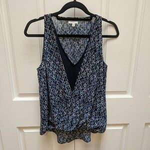 Navy Witchery Top